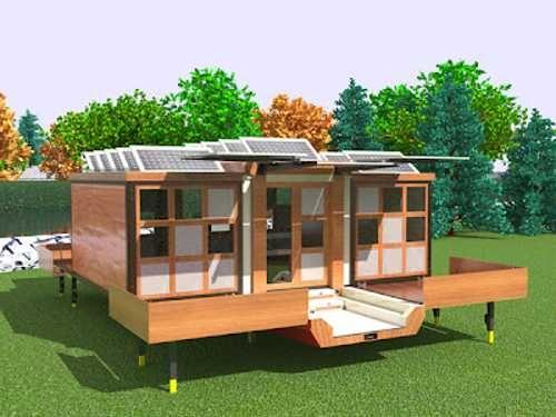 Solar panel home design