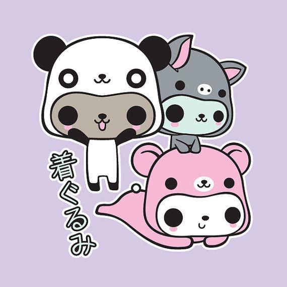 Kigurumi Kitties T-shirt