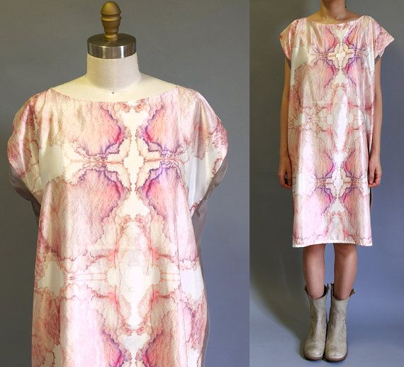 Hey, I found this really awesome Etsy listing at https://www.etsy.com/listing/161466123/printed-silk-mini-dress-03-original-art