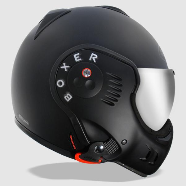 Roof Boxer Helmet Review Black Shadow Motorcycle Helmet