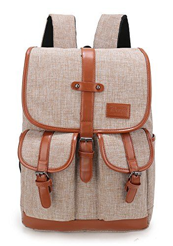 fc7ba8edd4 Weekend Shopper Vintage Backpack College Rucksack Laptop Backpacks with  Laptop Compartment Fits Most 15 inch Laptop