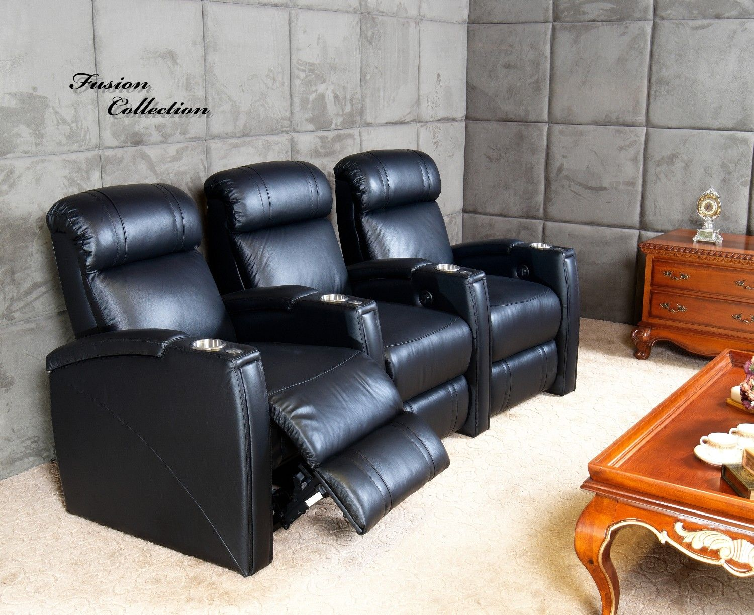 Fusion collection jive 1013 home theater seating