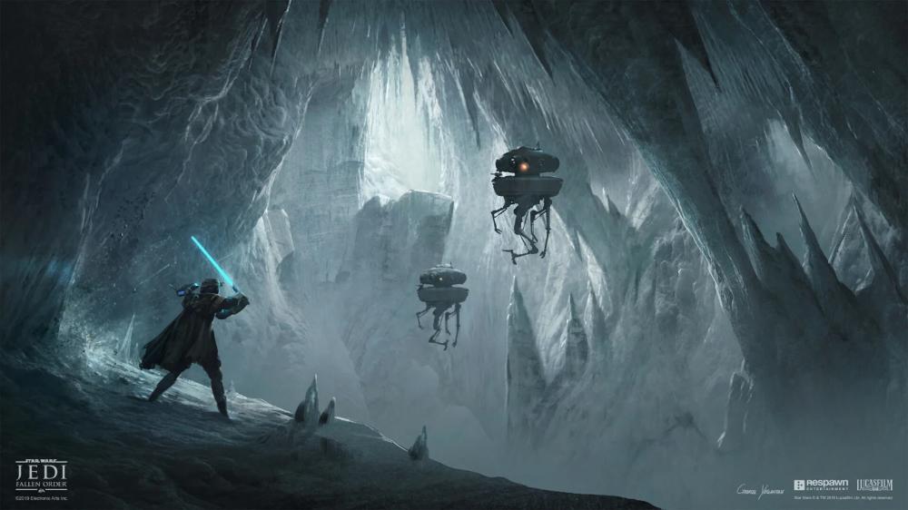 The Art Of Star Wars Jedi Fallen Order in 2020 Star
