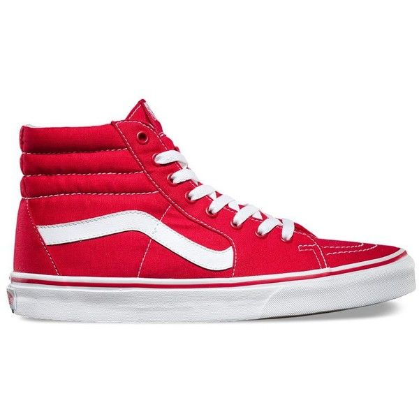 e556b71d58eebb Vans Canvas SK8-Hi ( 60) ❤ liked on Polyvore featuring men s fashion