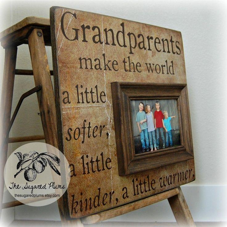 GRANDPARENTS DAY, Grandparents Picture Frame, Grandparents Sign ...