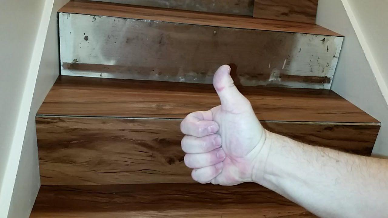 Vinyl Plank Flooring, How To Install Vinyl Flooring On Steps