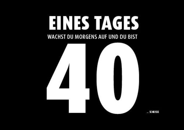 40 Bild Von Daniela Grimm Einladung 40 Geburtstag Vierzigster