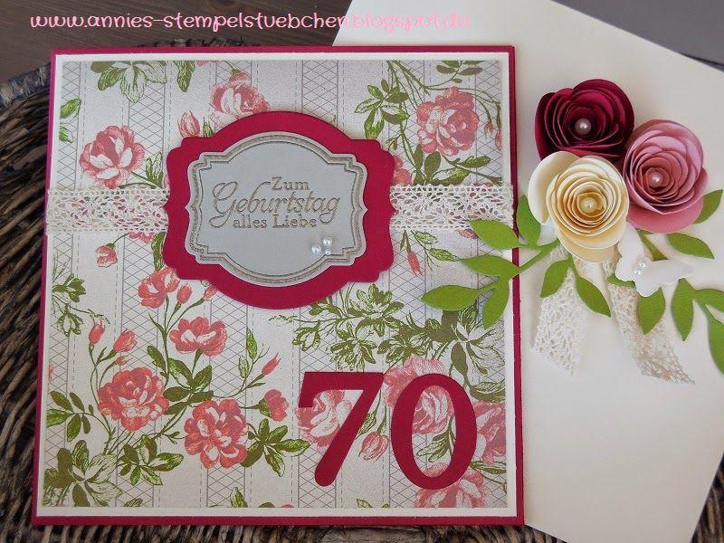Stempelkrempel mit Papier by Annies Stempelstübchen: Geburtstagskarten
