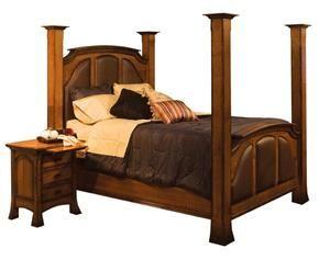Amish Breckenridge Reversed Panel Bed