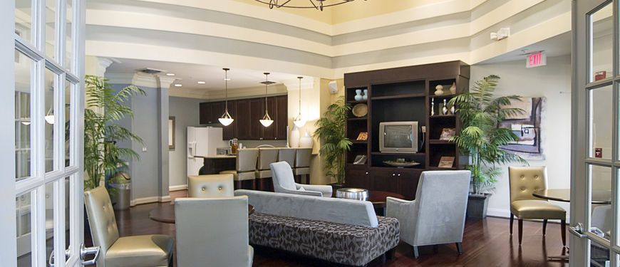 Resident Club House At Concord Park At Russett, A Luxury Apartment  Community In Laurel,