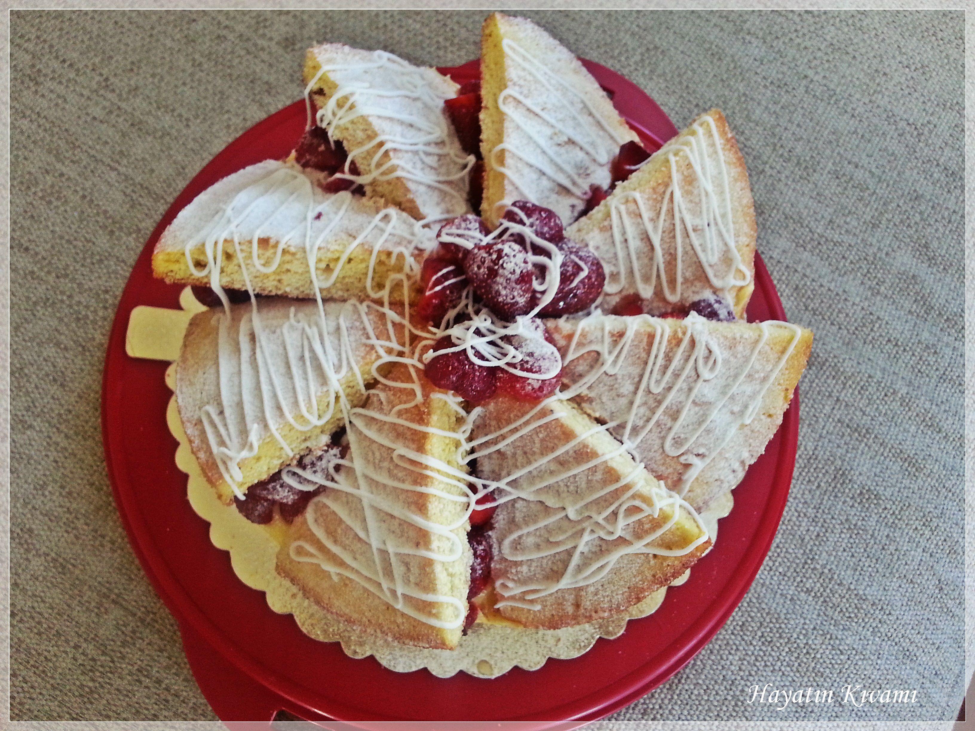 Rüzgar Gülü Pastası