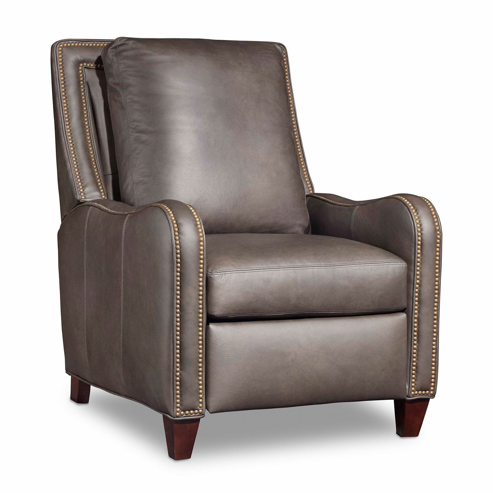 Bradington Young Greco Leather Recliner From Hayneedle Com 33 5