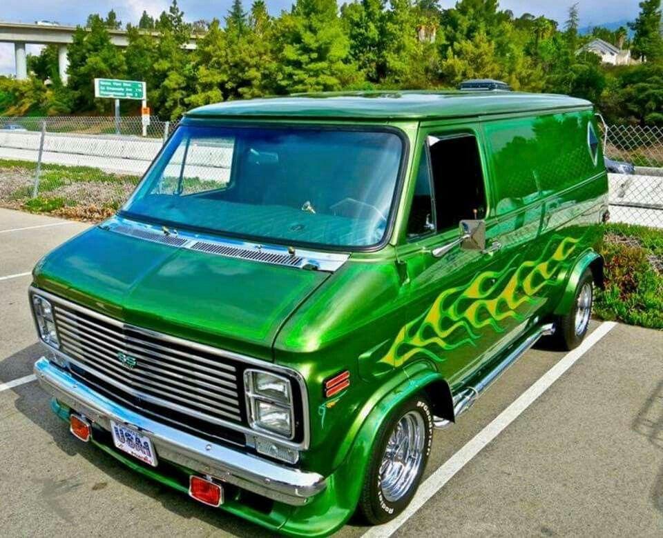 Pin By Disinfectech On Customvans Custom Vans Chevy Van Cool Vans