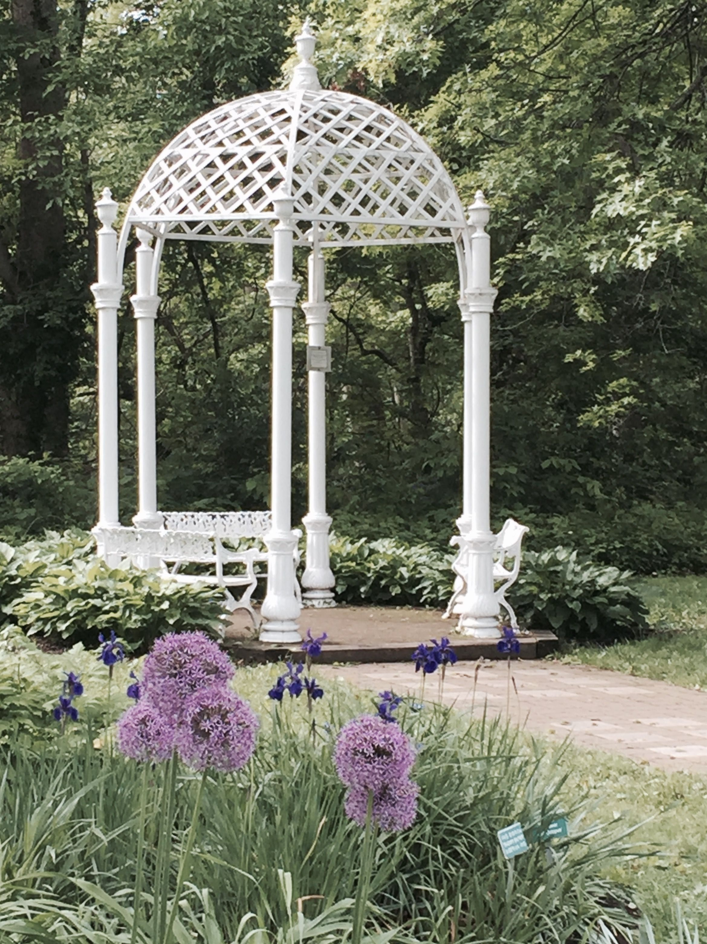 Wedding Gazebo Columbus Park Of Roses Oh