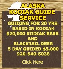 HORSTMAN'S KODIAK GUIDE SERVICE- 30 YRS  plus ALASKA HUNTING