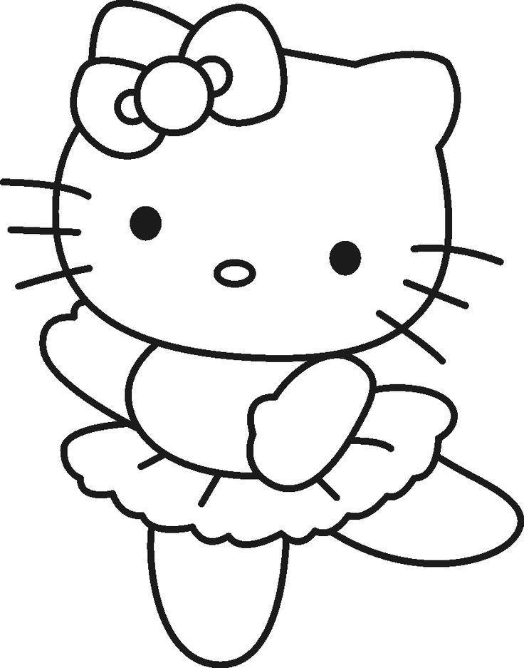 Okul Oncesi Boyama Sayfalari 3 Boyama Kitaplari Boyama Sayfalari Hello Kitty