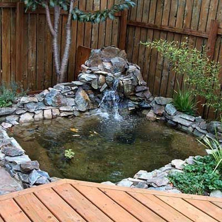 26 Marvelous Fish Pool Garden Design Ideas For Small Yard Gardendesign Gardeningtips Gardening Waterfalls Backyard Outdoor Ponds Ponds Backyard,Diy Painted Flower Pots Designs For Painting Drawing