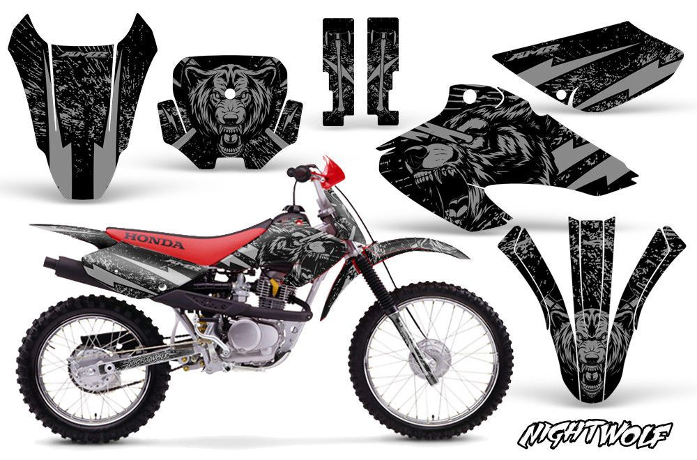 Honda Xr80r Xr100r Dirt Bike Graphic Sticker Kit Decal Wrap Mx 01