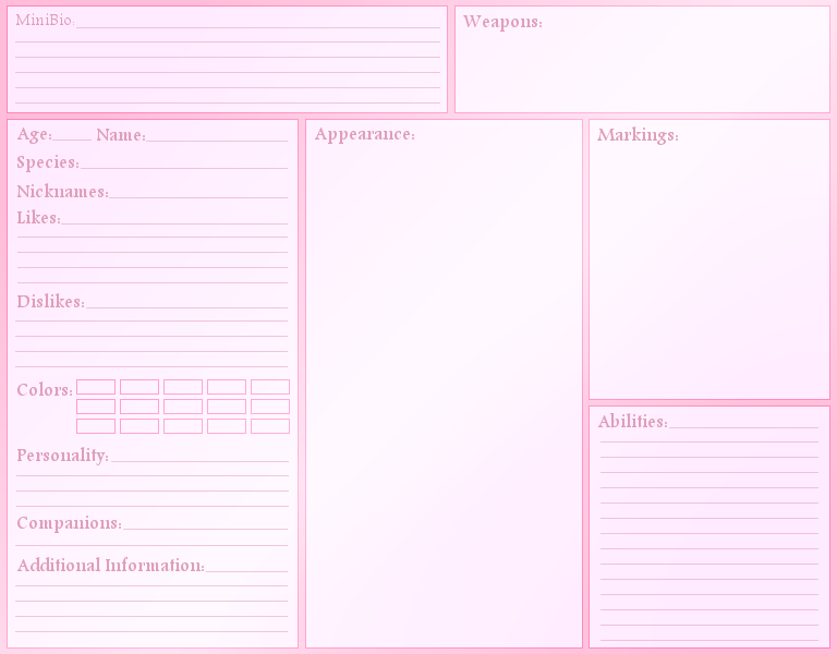 This is the blank character reference sheet I\'ll be using for my OCs ...