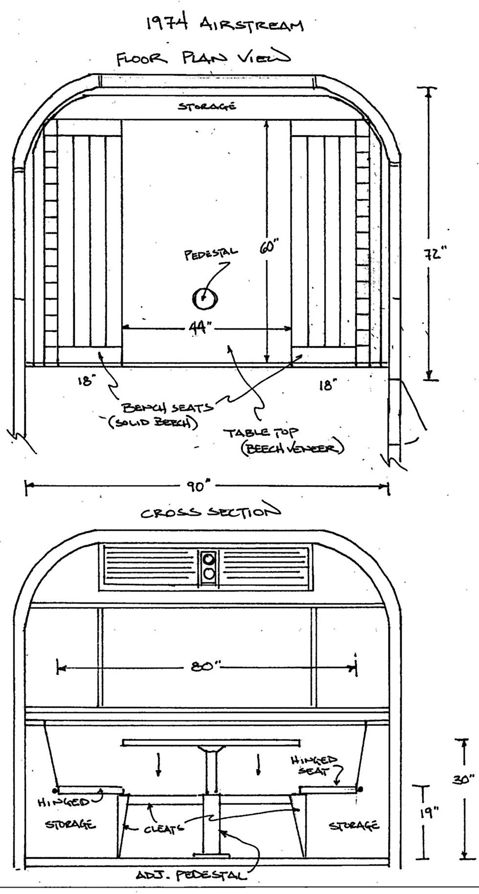 airstream blueprints
