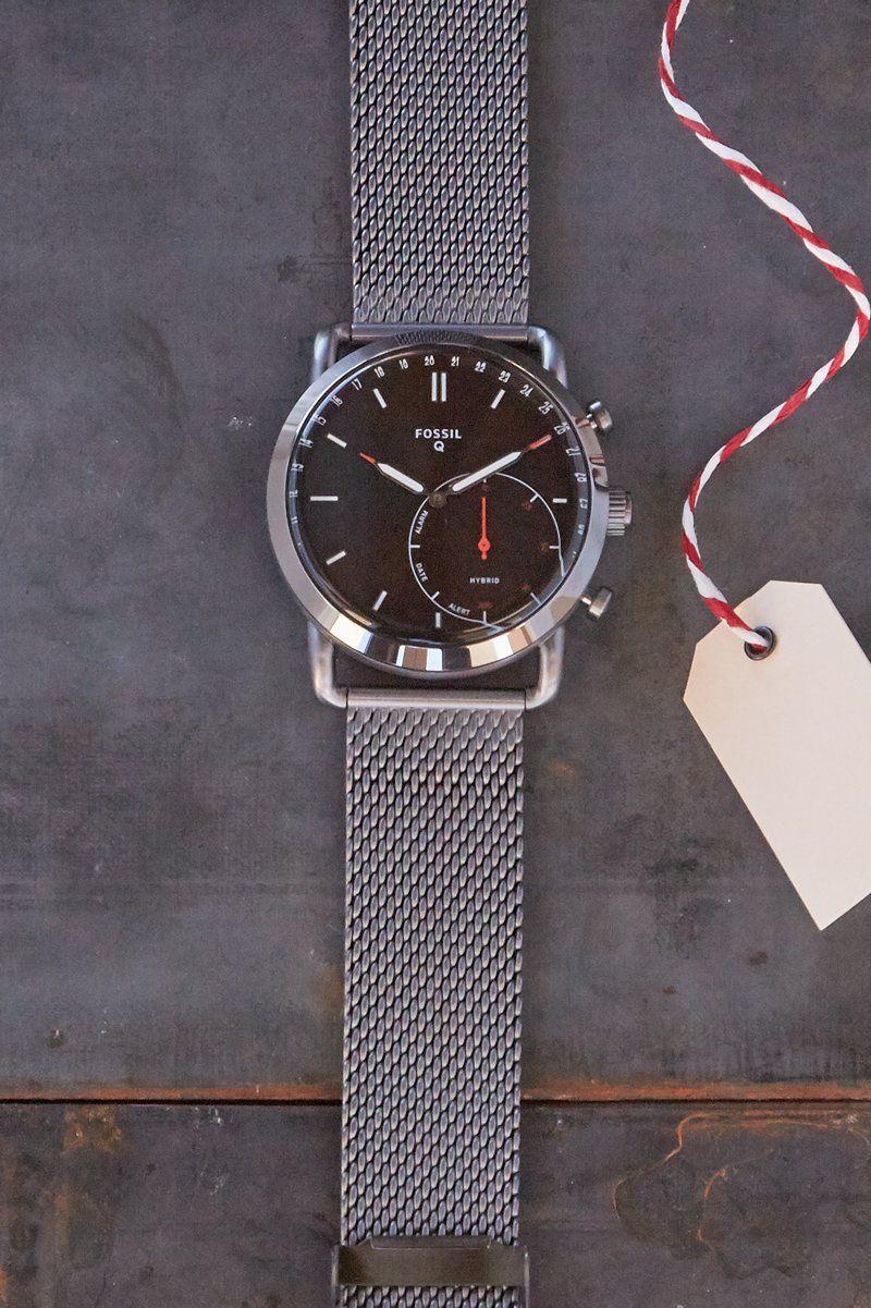 8f9965053647d Hybrid Smartwatch - Commuter Smoke Stainless Steel | jewelry | Smart ...