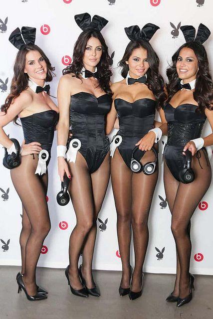 playboy bunnies wearing pantyhose