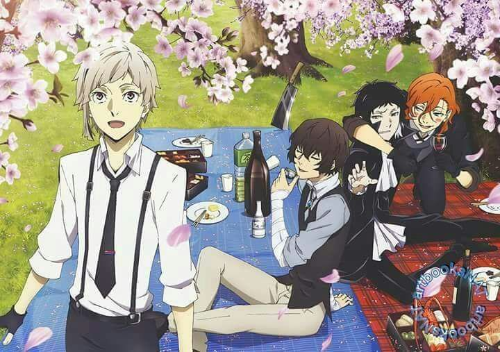 BSD Official Art   Wiki   Bungou Stray Dogs Amino