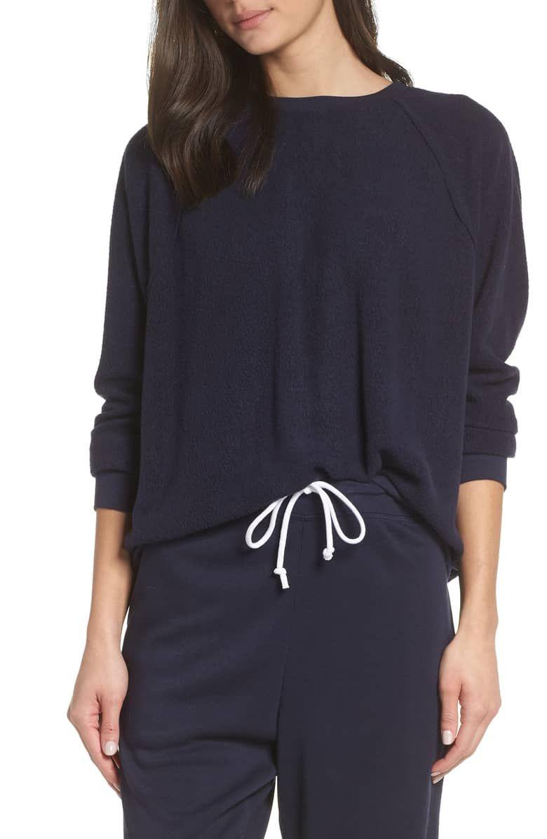 83df4b467 Batwing Fleece Pullover, Main, color, NAVY NIGHT | ☆ PAJAMAS ...