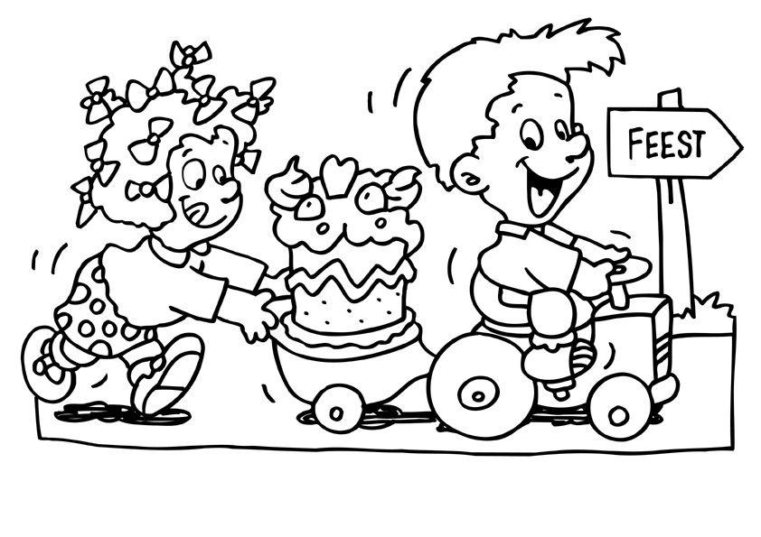 Verjaardag Raai De Kraai Kleurplaat Google Zoeken Raai