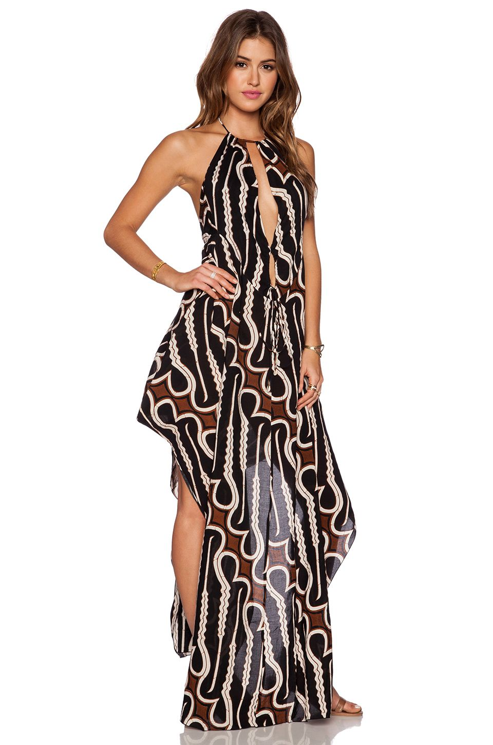 345e554fcf484 Indah Imani Halter Maxi Dress in Zulu | Places to Visit | Halter ...