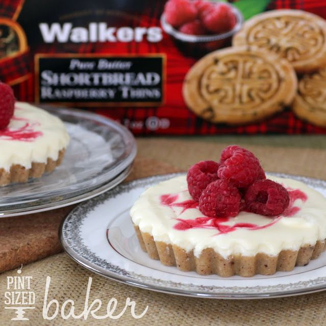 Blogger @Pint Sized Baker creates a delicious Raspberry Shortbread Tart with our Raspberry Thins. This recipe is perfect for small get-togethers or Fourth of July celebrations.