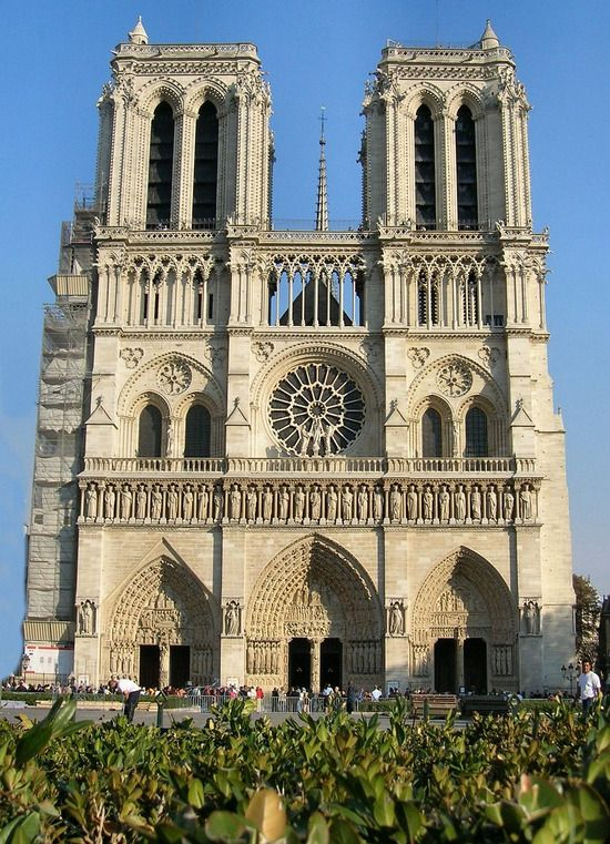 Notre Dame Catheral - Paris, France