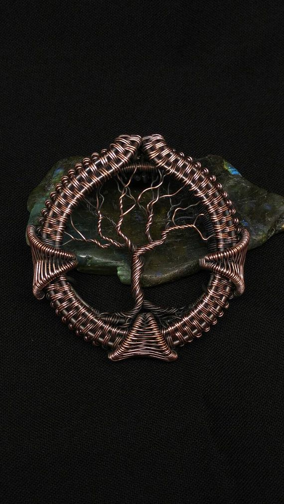 Copper diamond tree   Jewellery plus   Pinterest   Baum des Lebens ...
