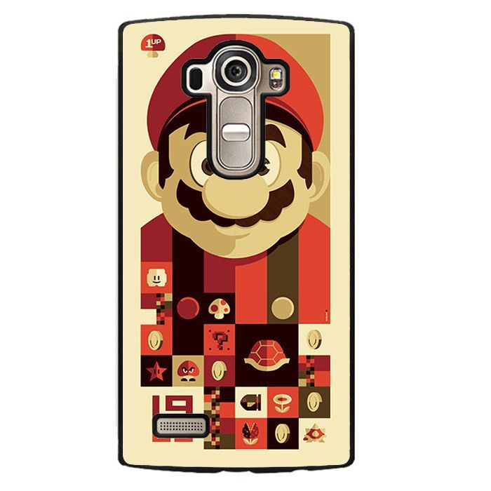 Mario Bross Old Game LG Phonecase For LG G3 LG G4