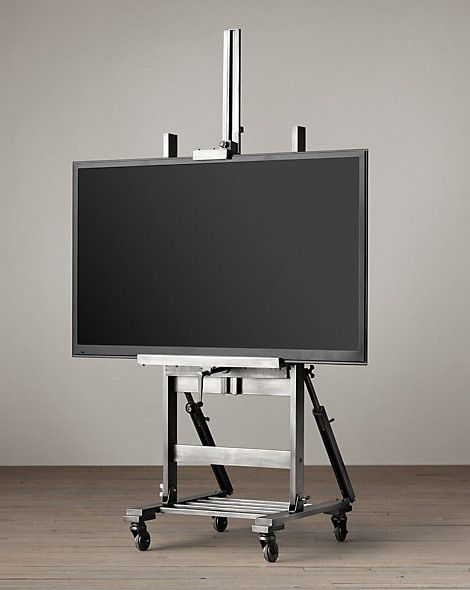 gunmetal tv easel id pinterest fernseher. Black Bedroom Furniture Sets. Home Design Ideas
