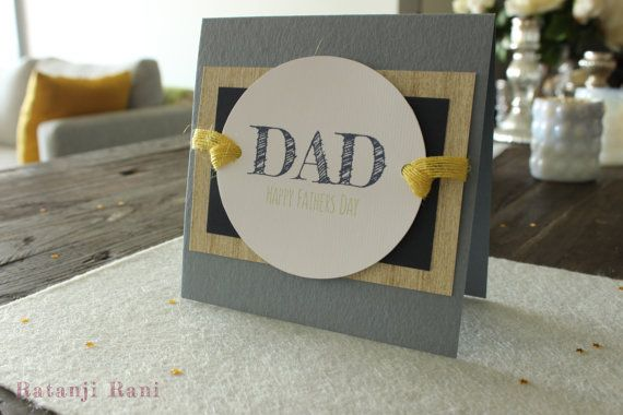 Fathers Day Card by RatanjiRani on Etsy