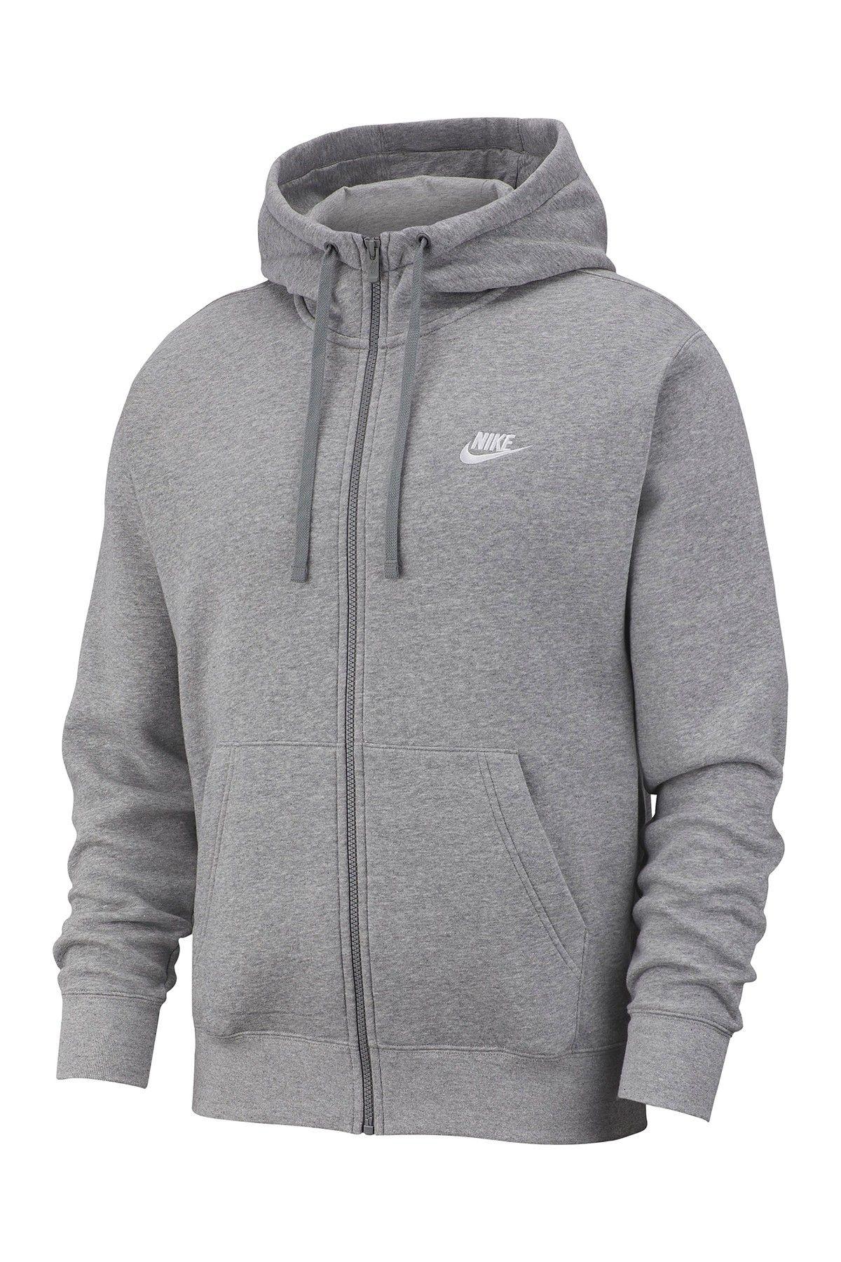 Nike Full Zip Club Hoodie (With images) Nike