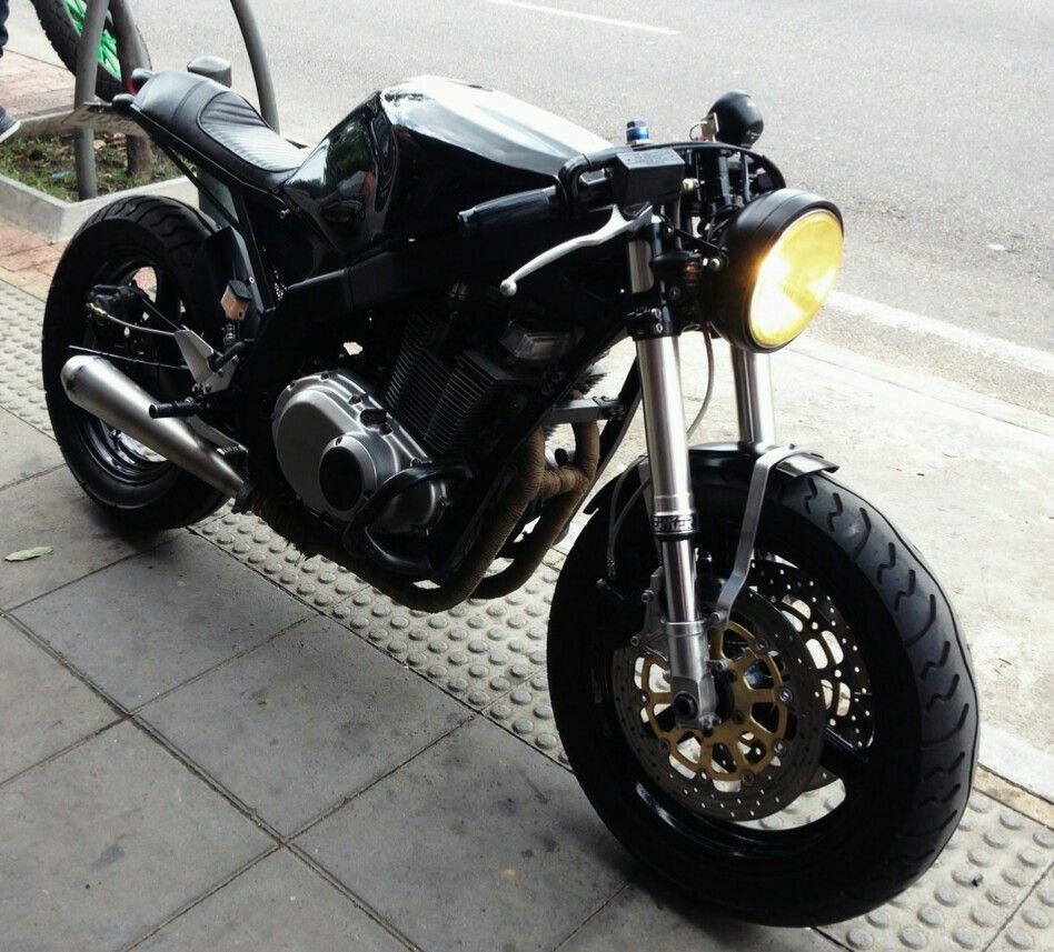 Suzuki Gs 500 Cafe Racer Gs500 Caf Project Pinterest Motorcycle Custom Bikes