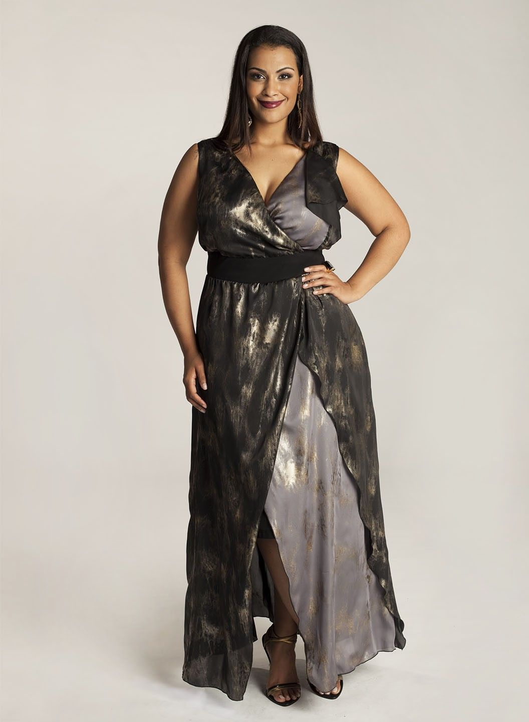 Pre order elnaz evening plus size gown outfits for curvyplus
