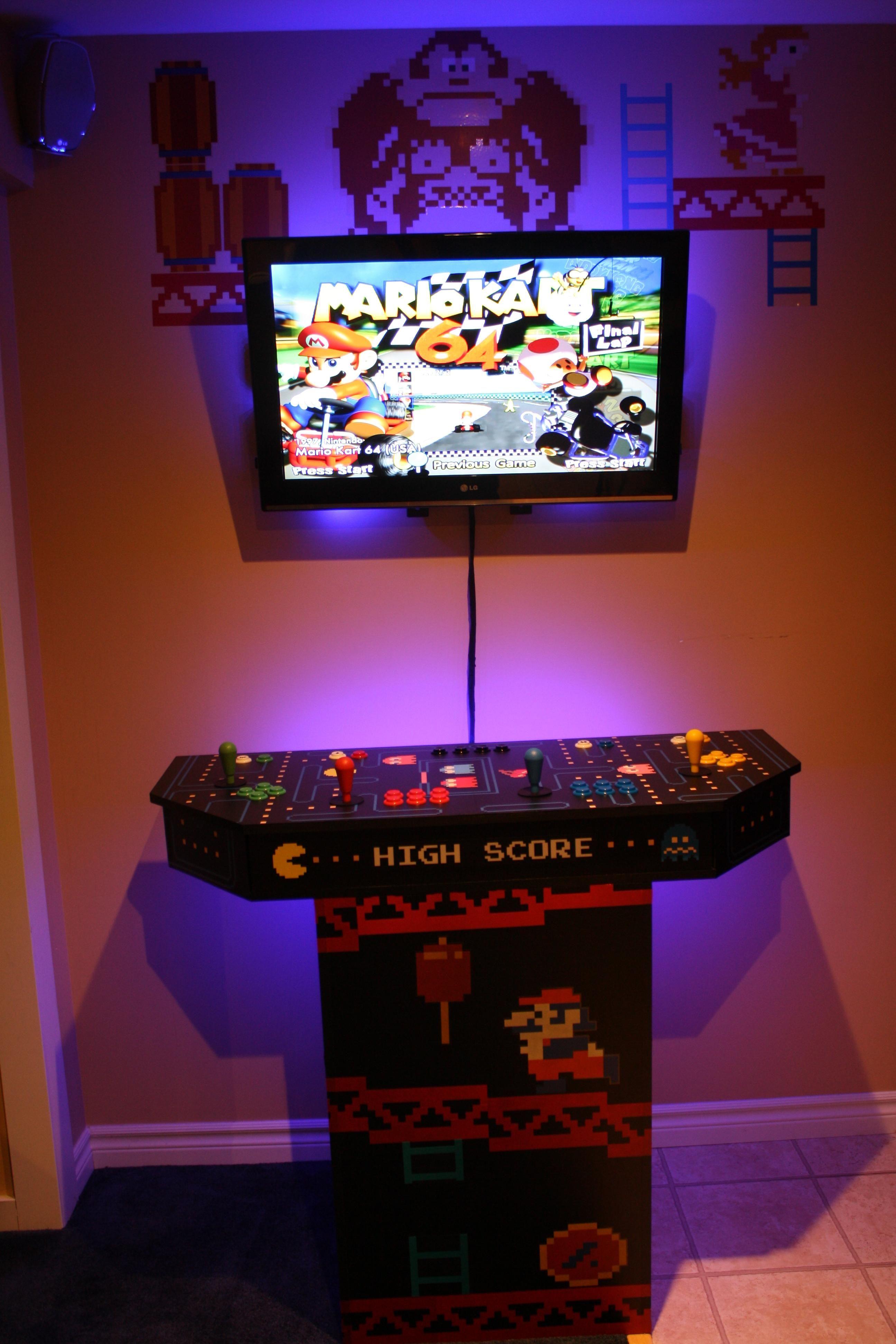 custom mame arcade machine