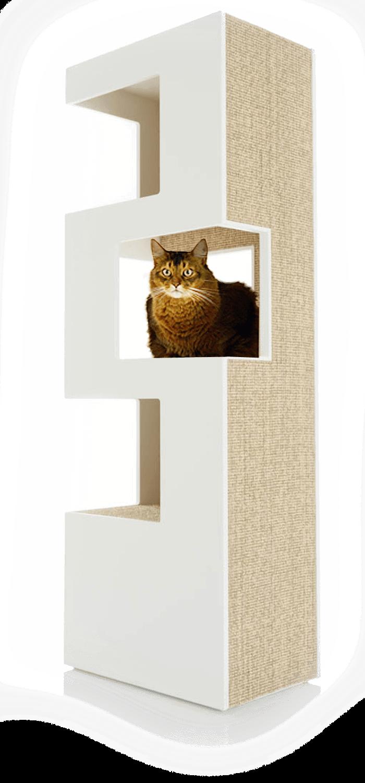 Design Katzenbaum Katzenmobel Fur Die Moderne Wohnung Cat Furniture Modern Cat Furniture Cat Tree