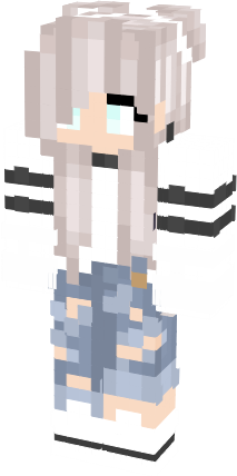Lighteninglady Cute Tomboy Girl Skin 3 Nova Skin Minecraft Girl Skins Tomboy Girl Minecraft Skins Cute
