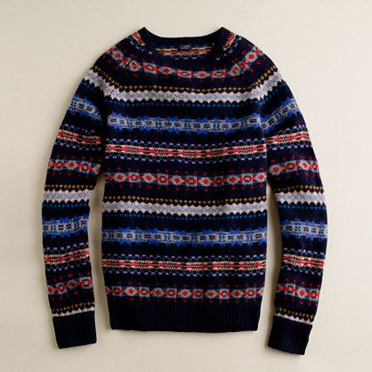 Fine lambswool Aberdeen Fair Isle sweater | fashion for all ...