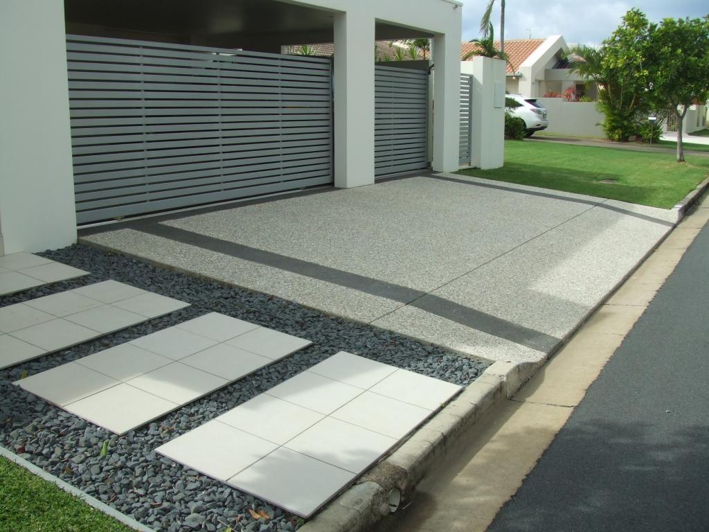 Driveways Inspiration   Caltabiano Concreting   Australia | Hipages.com.au. Driveway  DesignDriveway IdeasConcrete ...