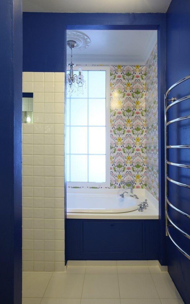 Salle De Bain Couleur Bleu ~ couleur salle de bains id es sur le carrelage et la peinture