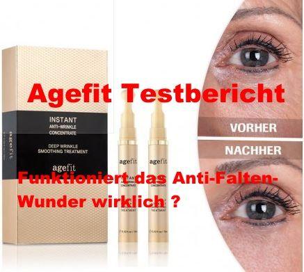 Agefit Erfahrungen Testbericht - funktioniert das Anti..