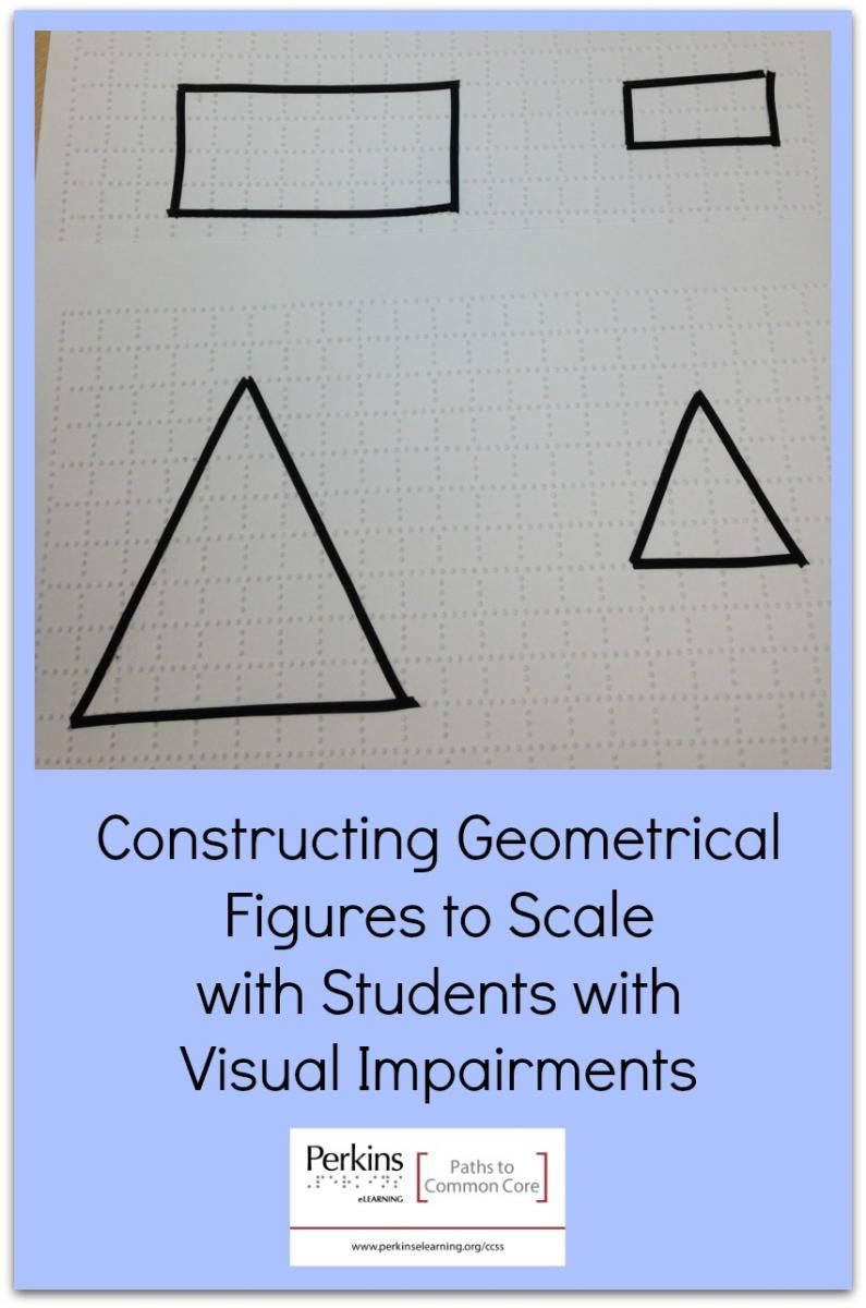 Constructing Geometrical Figures To Scale Math Centers Math Math Literacy