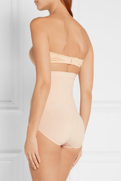 Higher Power High-rise Briefs - Beige Spanx Cheap Latest Largest Supplier Clearance Release Dates a8DaIudm
