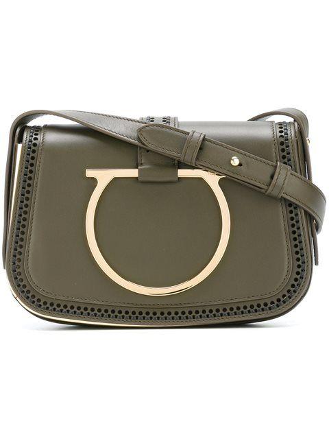 32aca39ca305 Shop Salvatore Ferragamo  Sabine  shoulder bag in Coltorti from the world s  best independent boutiques