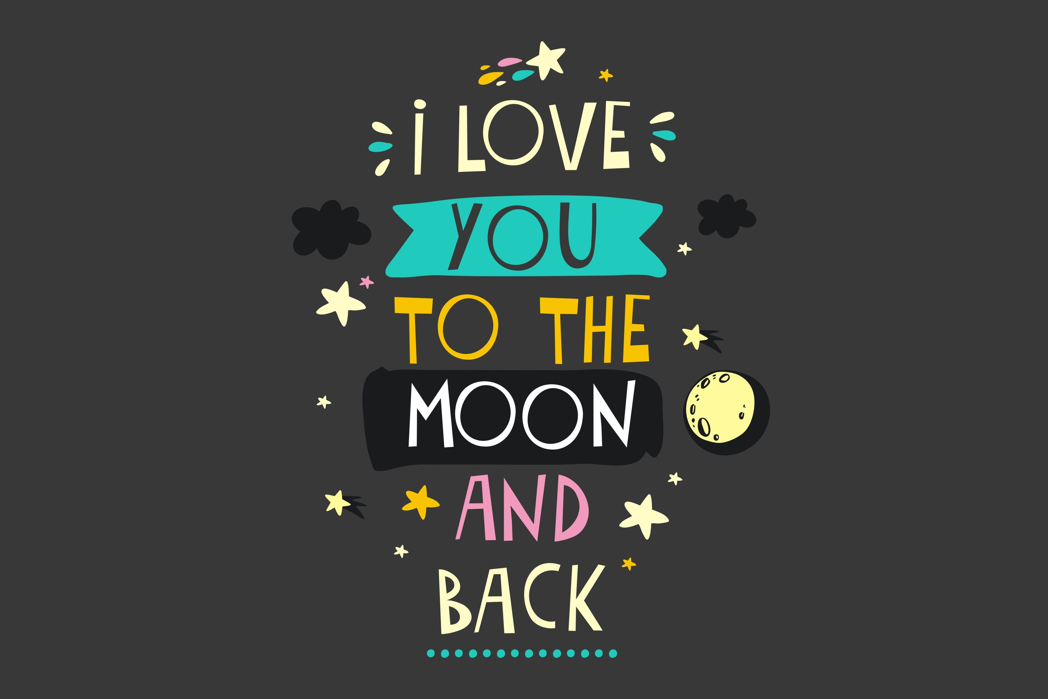I Love You To The Moon And Back Valentines Day Wallpaper Phone Wallpapers Valentines Wallpaper Love Wallpaper Backgrounds